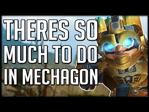 Mechagon ruf farmen