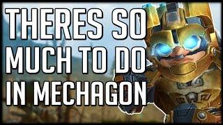 BEST ZONE EVER? Mechagon Will Keep You Busy | WoW BfA