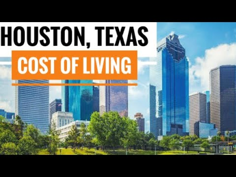 Cost of living in Houston, Texas