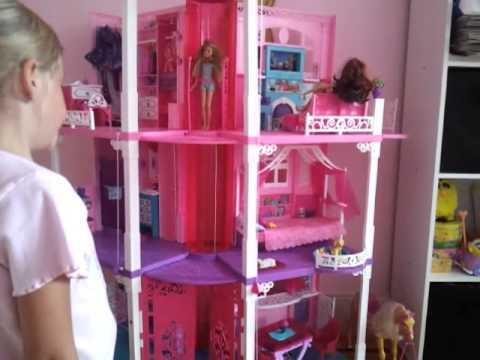 The All New, Renovated, 3-story Barbie Dream House 2013 is