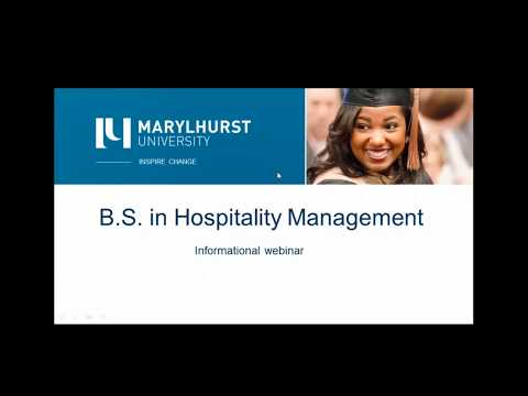 Hospitality Management Information Session
