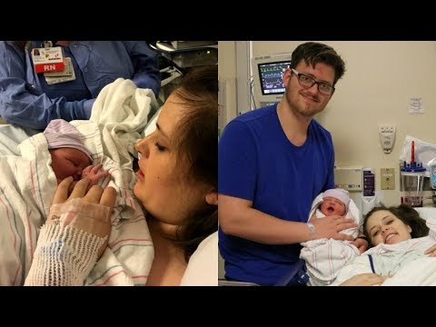 Labor and Delivery Vlog! | Unexpected C-Section