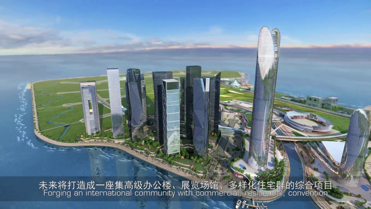 hpa designs New Manila Bay City Of Pearl - YouTube