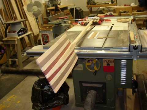 build wooden kayak paddle 2
