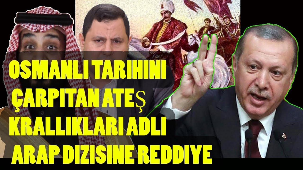 Osmanlı tarihini çarpıtan Ateş Krallıkları adlı Arap dizisine reddiye
