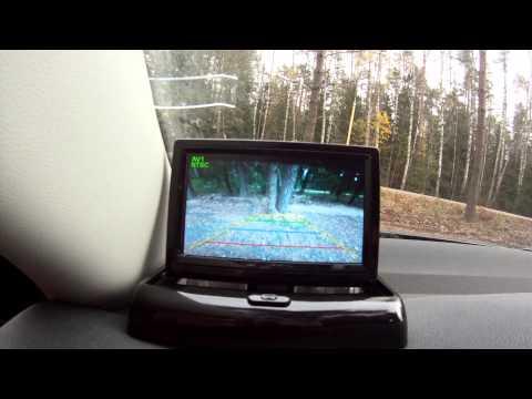 Монитор и камера заднего вида для автомобиля