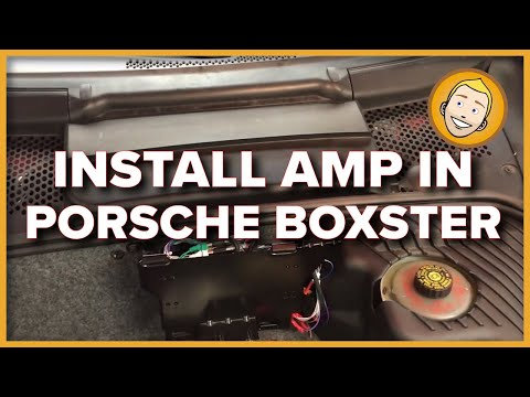 How to Install an Amplifier in a Porsche Boxster 986 (Alpine KTA-450)