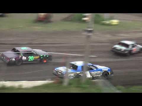 IMCA Hobby Stock feature Benton County Speedway 7/28/19