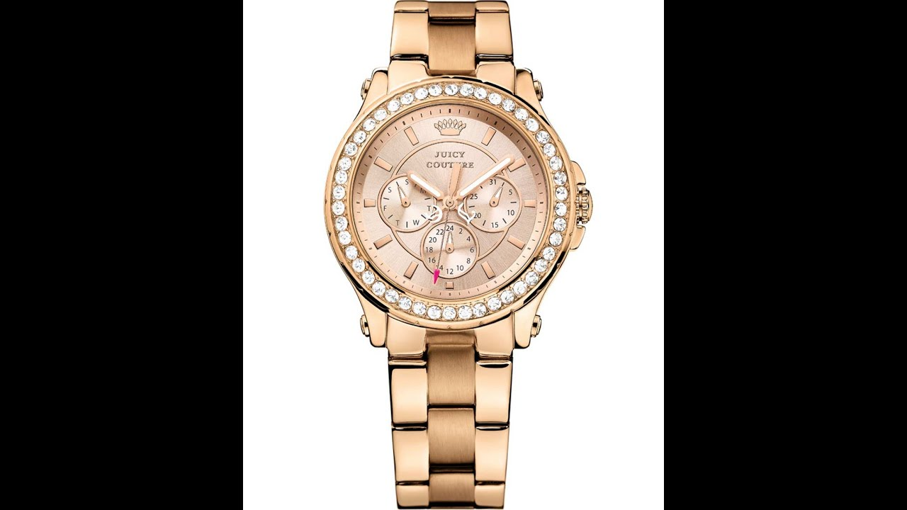 JUICY COUTURE Pedigree Rose Gold Stainless Steel Bracelet 1901050