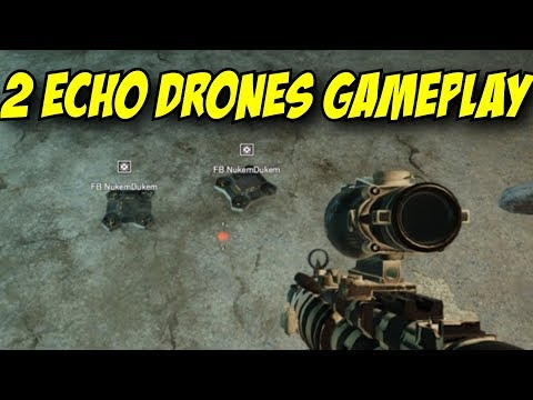 Rainbow Six Siege New Echo Buff Gameplay 2 Drones & 1 Speed Movement Buff