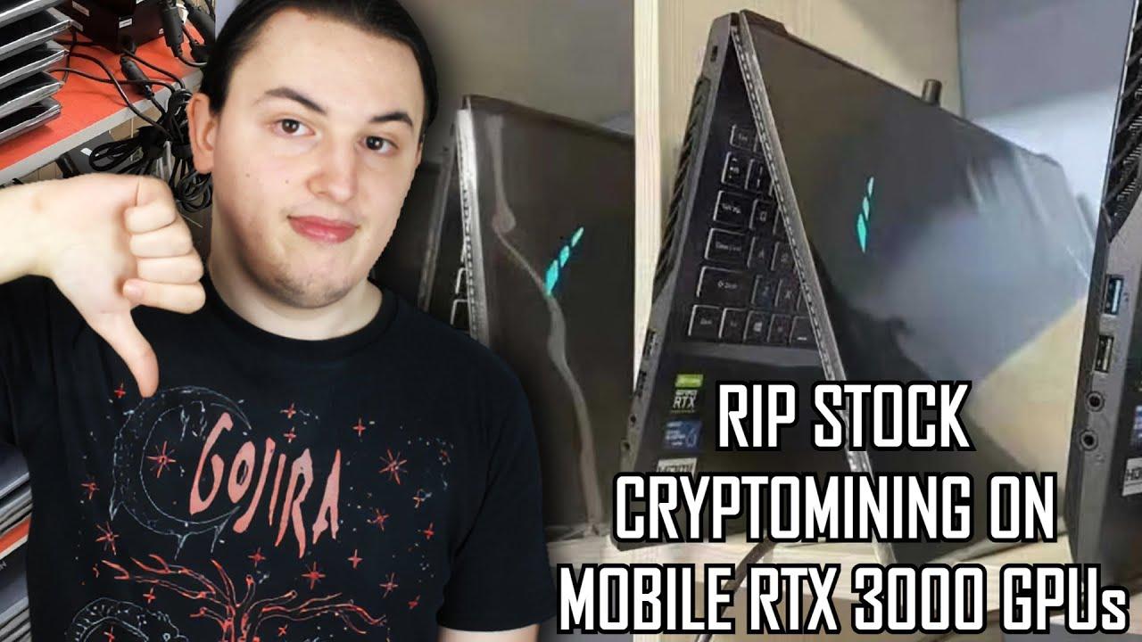 bitcoin mining laptop)