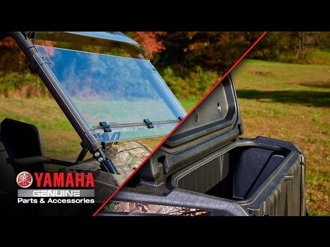 Yamaha Wolverine Genuine Comfort And Convenience Accessories