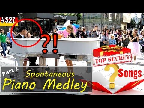Piano Medley Frankfurt 钢琴演奏 法兰克福 步行街 集合曲, Part 1, S027