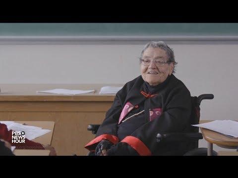PBS NewsHour: Viral sensation Flossie Lewis is still a spectacular teacher at 94