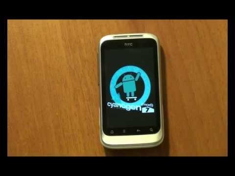 Как установить CyangenMod7 на HTC Wildfire S (S-OFF)