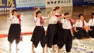 【福山明王台】第9回書道パフォーマンス甲子園 2016年