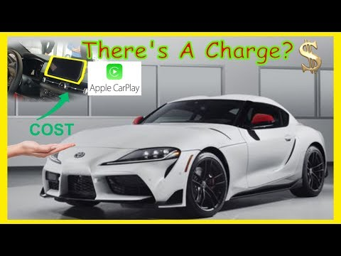 Toyota Supra Coming With Subscription Based Apple CarPlay?