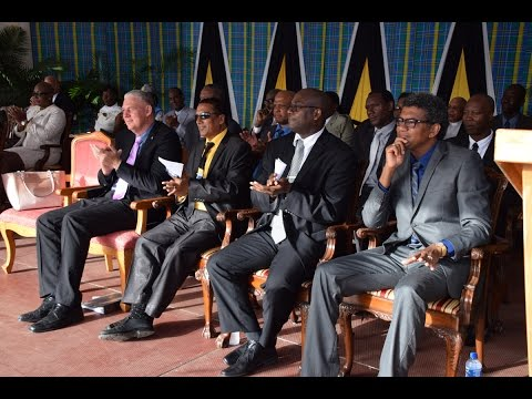 Swearing in Ceremony of Saint Lucia Cabinet of Ministers