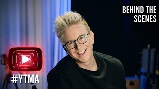 Tyler Oakley Hosts the YouTube Music Awards 2015 Part 1