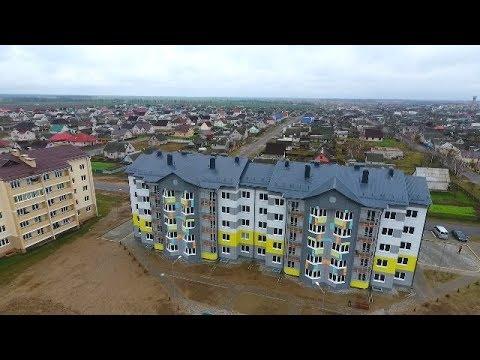 Дом, построенный Гуцериевым, для жителей Любани