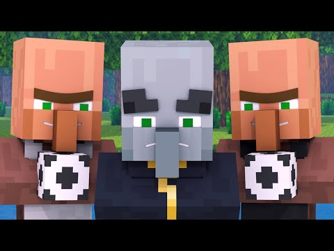 Villager vs Pillager Life 1 - Minecraft Animation