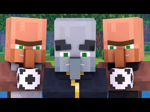 Villager Vs Pillager Life 1 - Minecraft Animation
