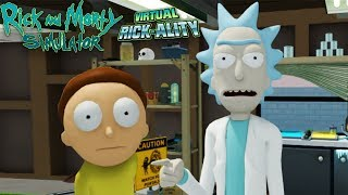КЛОН, КОТОРЫЙ НИЧЕГО НЕ ПОНЯЛ ► Rick and Morty: Virtual Rick-ality #1