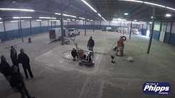 Time Lapse: Husqvarna Floor Polishing with the PG 820RC