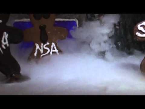 Gingerbread Data Center: NSA & Sweden Eat Cake