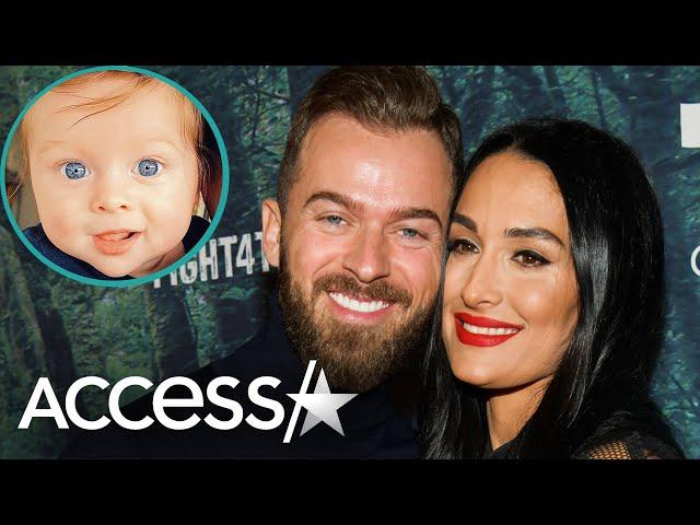 Nikki Bella Shares Pic Of Baby Matteo\'s Mesmerizing Eyes