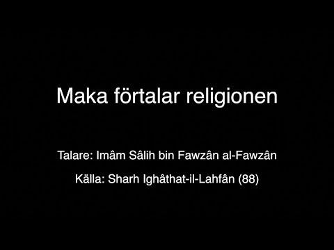 2494. Maka förtalar religionen