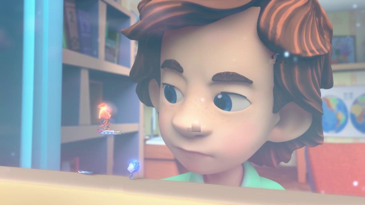 ✌️ Фиксики 🌼 - Раскраска 🎨  - Кормушка 🛠 Учим цвета с мультгероями - Для малышей