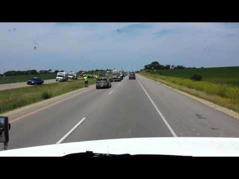 Rollover on WI I-39/90/94