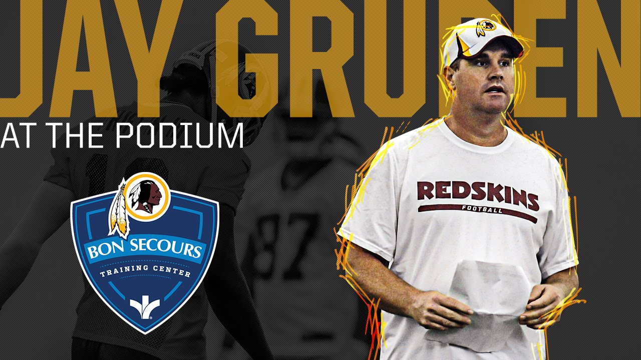 ecb140ee Coach Jay Gruden Training Camp Press Conference: 7/26/14