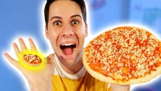 REAL FOOD VS POPIN COOKIN: PIZZA