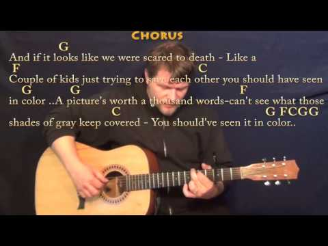 In Color (Jamey Johnson) Fingerstyle Guitar Cover Lesson with Chords/Lyrics  - Capo 3rd