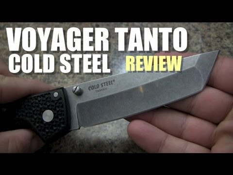 Cold Steel Voyager Large Tanto Point Knife Review