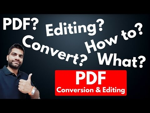 What is PDF? Can we Edit? Conversion? Universal?