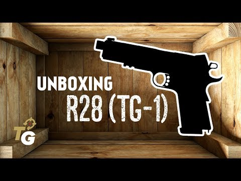 Unboxing R28 (TG-1) - Dark Earth/Brown [Army Armament]