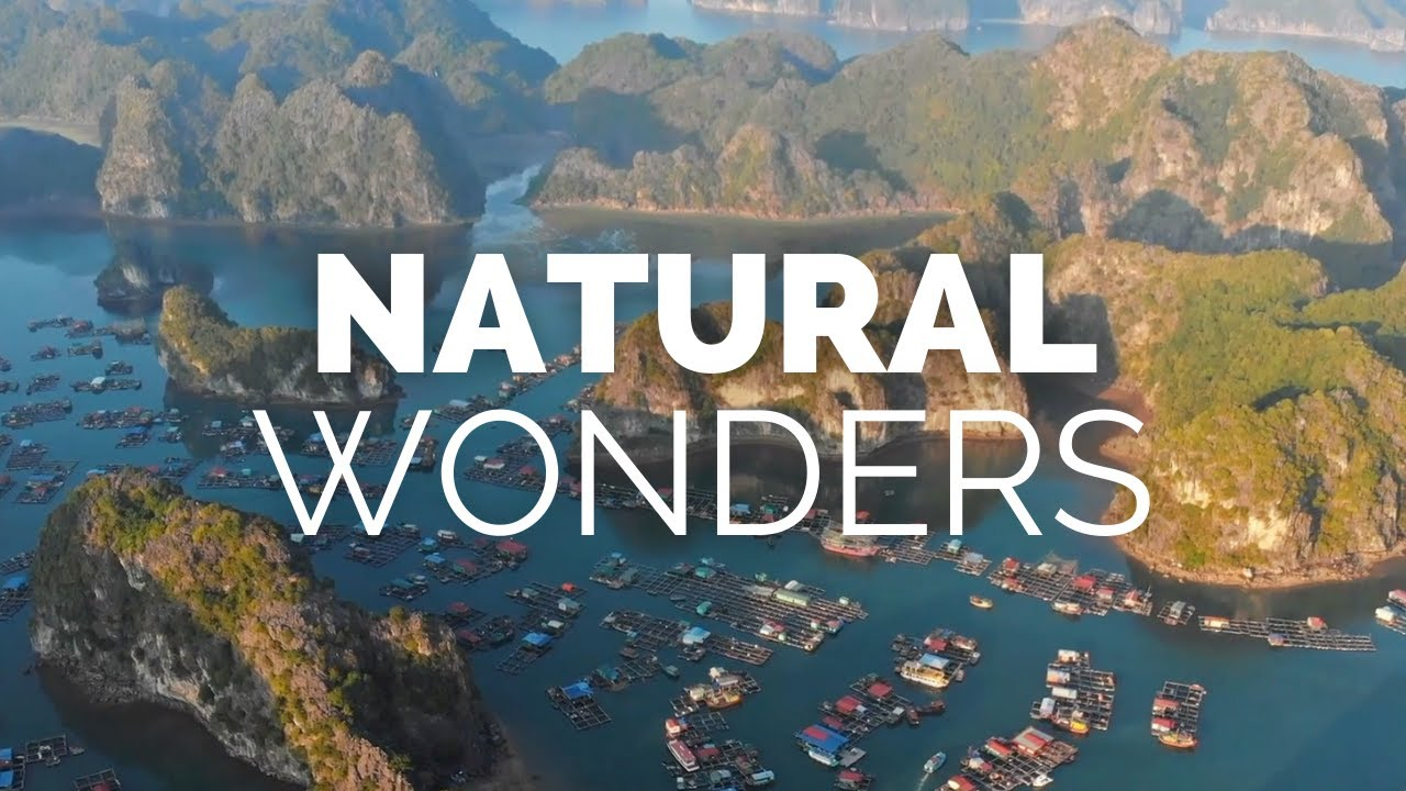 25 Greatest Natural Wonders of the World - Travel Video