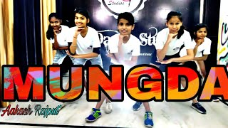 MUNGDA Dance Video | Jazz Bollywood | Sonaksi Sinha | Ajay Devgn | Choreography Aakash Rajput ||