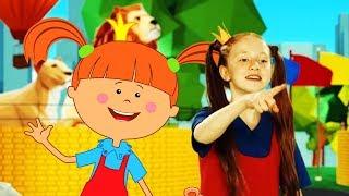 Жила-была Царевна: Зарядка с Царевной - Зоопарк 🦁 - развивающие песенки для детей / теремок песенки