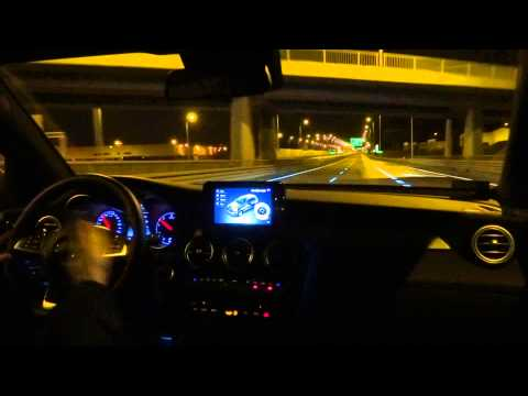 2016 Mercedes-Benz GLC 220d AMG 4Matic Night Drive Driving Fuel Consumption Test