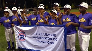 Amazing Black; Black Little League team makes history