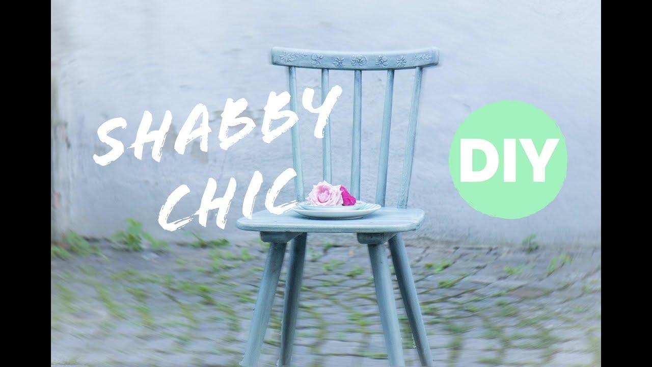 Shabby Chic selber machen - mit Kreidefarbe * DIY * Chalk Paint ...