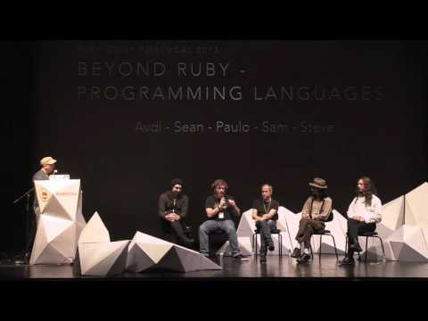 Panel Discussion About the Future of Programming Languages @ RubyConf Portugal'15