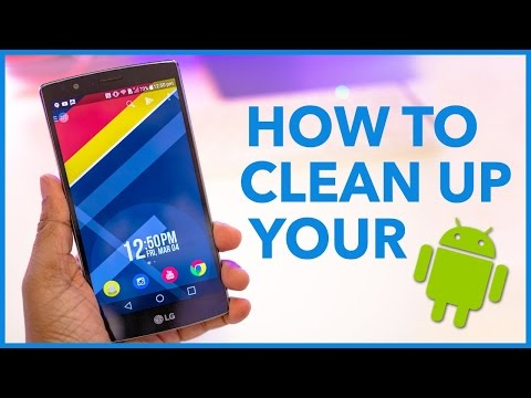 How to clean up your android Without any Apps !!