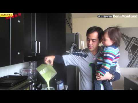 Green Smoothie Recipe (High Fiber)- BenjimanTv