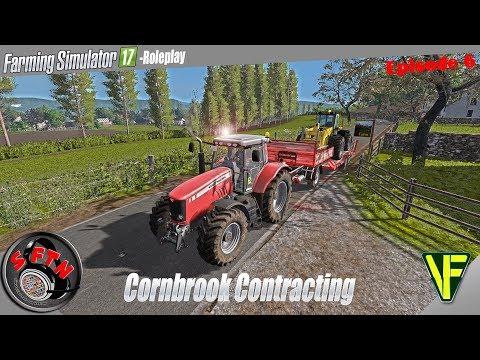 Unleash the beast ! | Cornbrook Contracting, Episode 6: Farming Simulator 17 Role Play