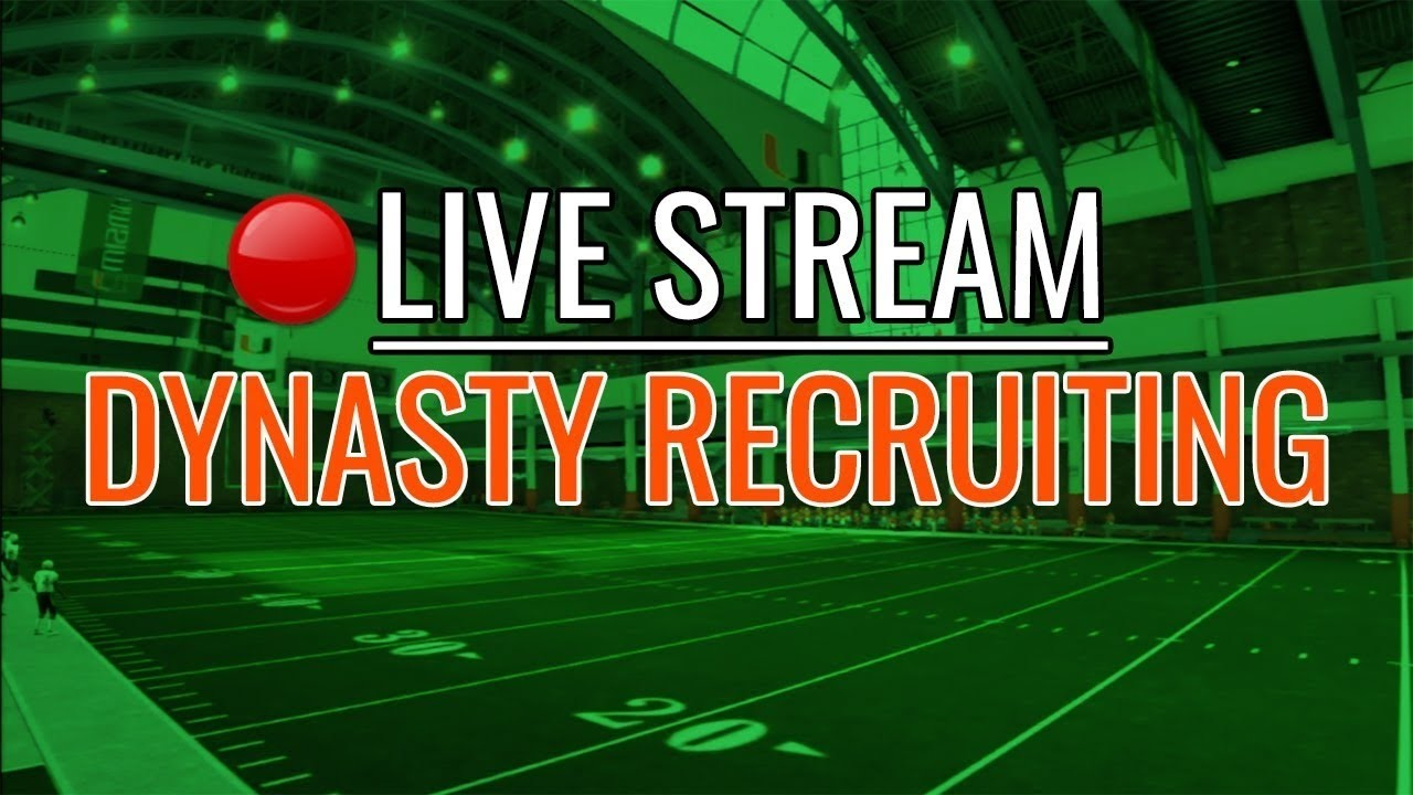 LIVE! Recruit Before ACC Title Game | Miami Hurricanes Dynasty Recruiting | NCAA Football 14 (PS3)